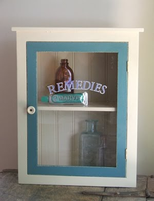 Farmhouse Musings New Vintage Medicine Cabinet