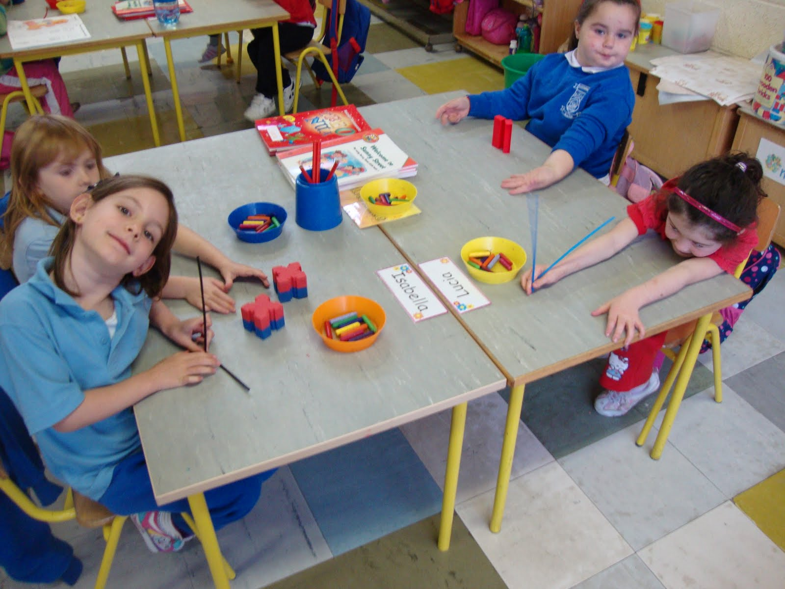 Maths Page Matching Activities Junior Infants