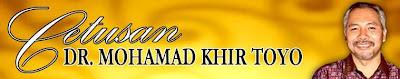 Khir Toyo blog