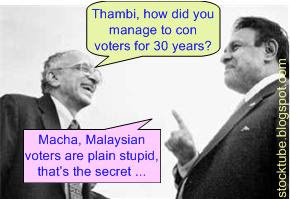 Malaysian voters stupid