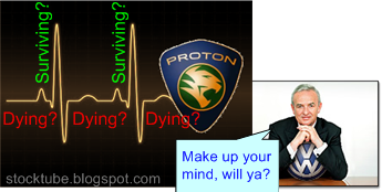 Proton dying surviving