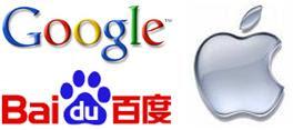 Google Apple Baidu