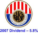 2007 EPF dividend 5.7%
