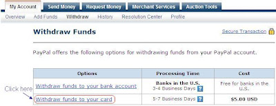 how to send money to paypal account from debit card