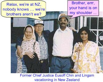 Lingam Eusoff Vacation New Zealand