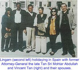 Lingam Mohtar Vincent Tan Vacation Spain