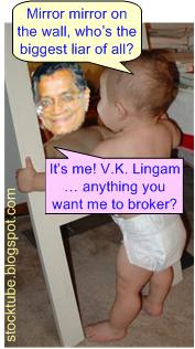 Lingam biggest liar