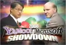 Microsoft Yahoo Showdown