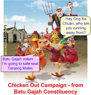 Ong Ka Chuan Chicken Out