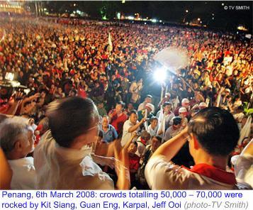 DAP ceramah at Penang attracts 50,000