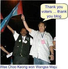 Wee Choo Keong won