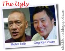 Mohd Taib Ong Ka Chuan - The Ugly