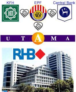 RHB KFH EPF UBG Central Bank