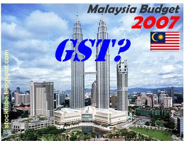 malaysia budget 2007
