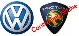 Volkswagen control Proton