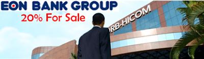 DRB-Hicom sell EON Capital