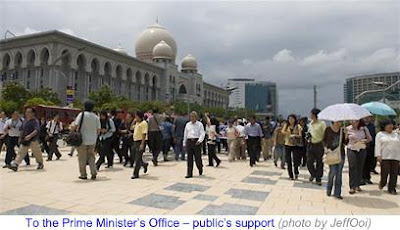 1000 Lawyers March to Save Judiciary 12