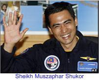 Malaysia Astronaut Sheikh