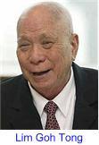 tan sri lim goh tong biography Lim goh tong (tionghoa: pada 6 juni 1996, pemerintah malaysia memberikan gelar tan sri kepada lim goh tong atas kontribusinya dalam membangun negara.