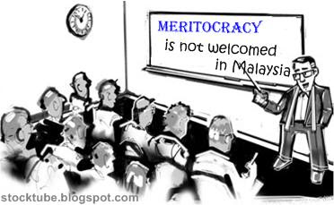Meritocracy not welcomed in Malaysia