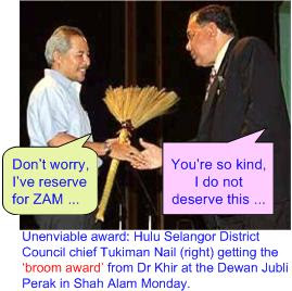 Malaysia Broom Award