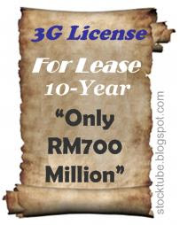 3G License for lease