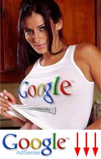Google Adsense Clicks Tumble