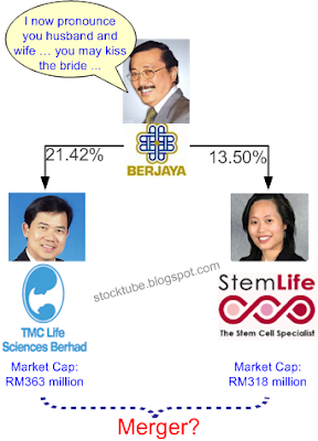 Vincent Tan to merge StemLife and TMCLife