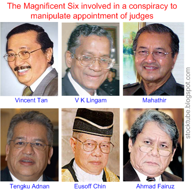 Six involved in Lingam scandal