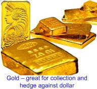 Gold collection to hedge