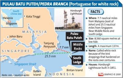 Pulau Batu Puteh Pedra Branca