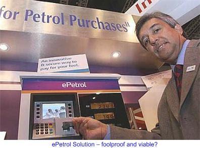ePetrol kiosk