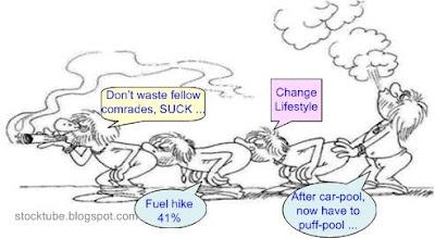 Change LifeStyle Puff Sharing