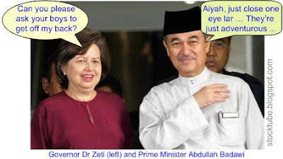 Zeti and Abdullah Badawi