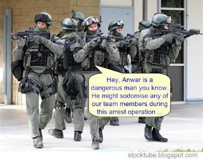 Anwar arrest UTK
