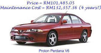 Proton Perdana V6