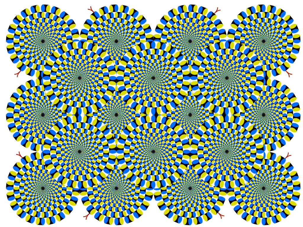 optical illusions circles illusion spinning cool eye tricks rotating moving trick visual mind amazing eyes painted move brain moves crazy