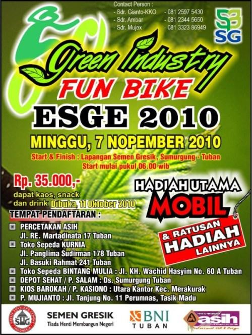 KONCI (KOmunitas oNtel suCI): Menuju Fun Bike ESGE 2010