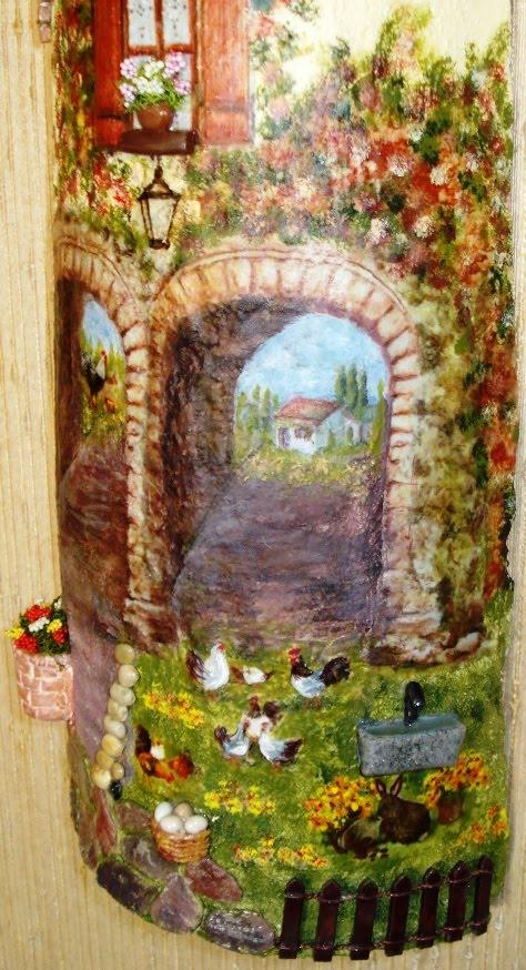 Creazioni di letizia 2010 08 22 - Coppi decorati in rilievo ...