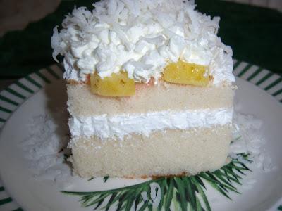 Pina Colada Pineapple Rum Cake