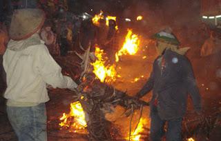 Torch War at Jepara (Jepara Tourism Info)