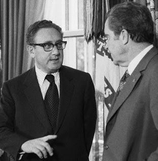 Nixon and Kissinger in the Oval Office
