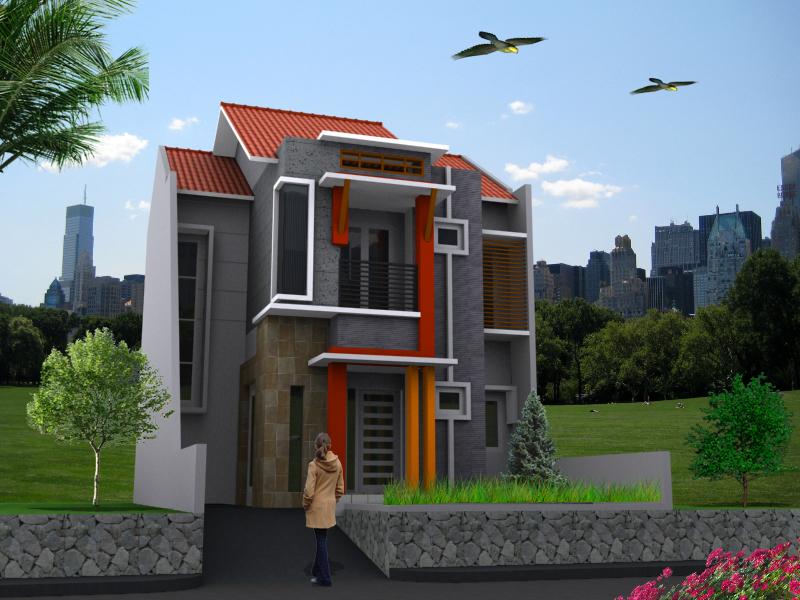 Desain Rumah Minimalis Type 36 berlantai 2 - Fahriemje Blog