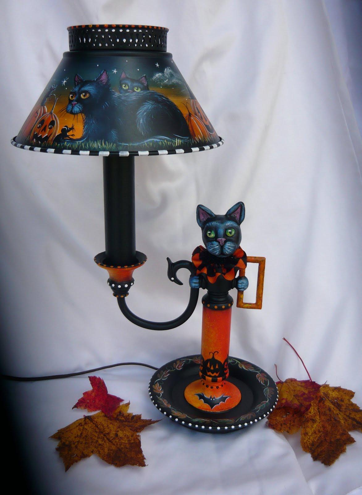 Magic Brush Studio Vintage Halloween Black Cat Amp Mice
