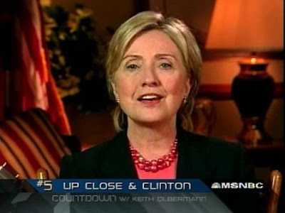 HRC Countdown with Keith Olbermann interview 2007