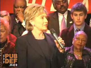 HRC speech St. Louis Missouri December 2007