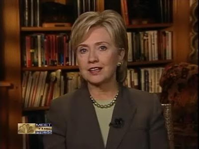 HRC NBC Meet The Press interview September 2007