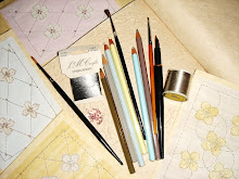 Pencils, Brushes,Threads, Beads