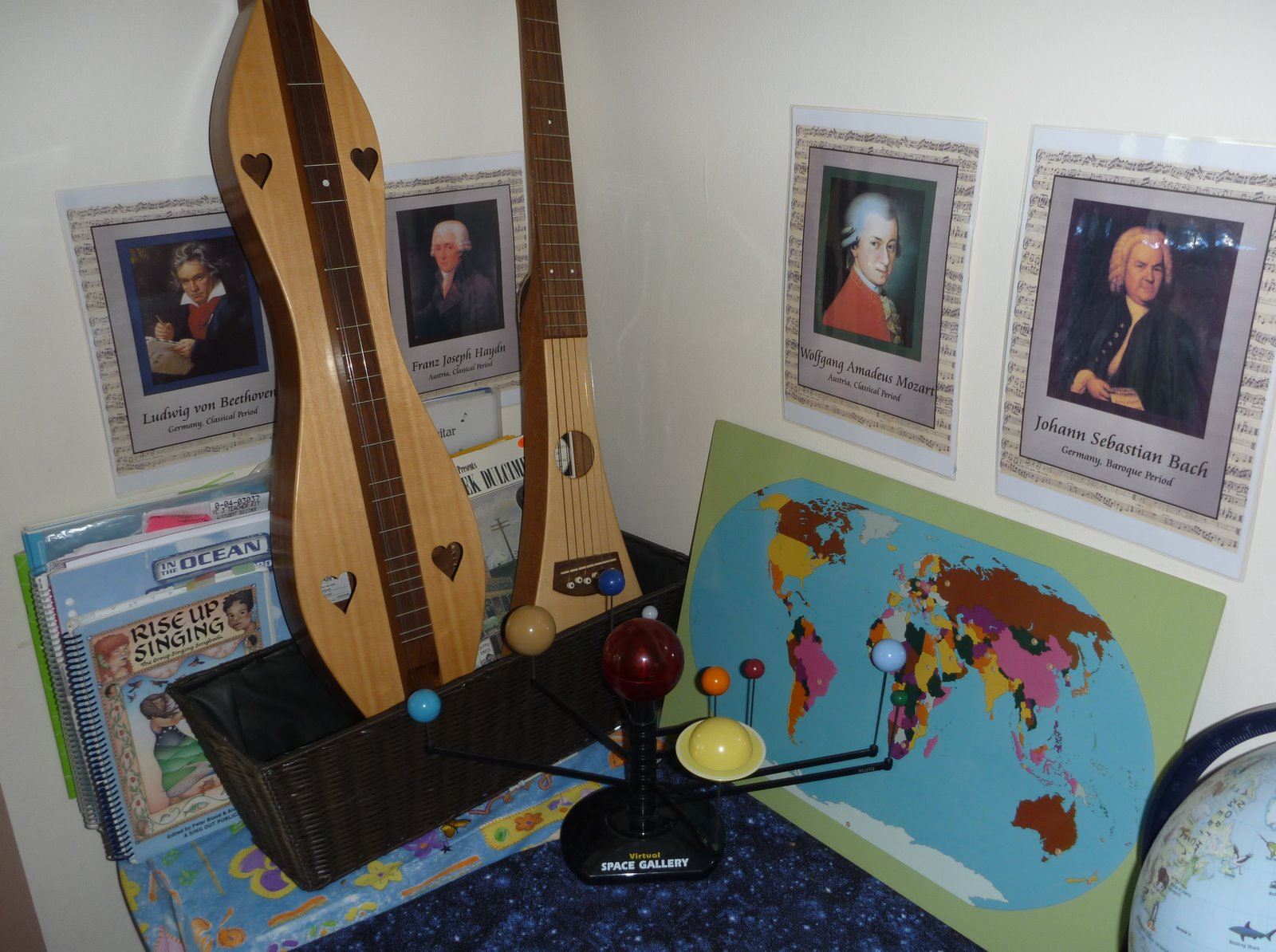 Composer Posters (Photo from The Homeschool Den)