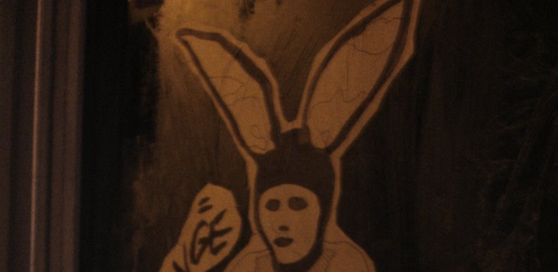 donnie darko, evil bunny, dunny